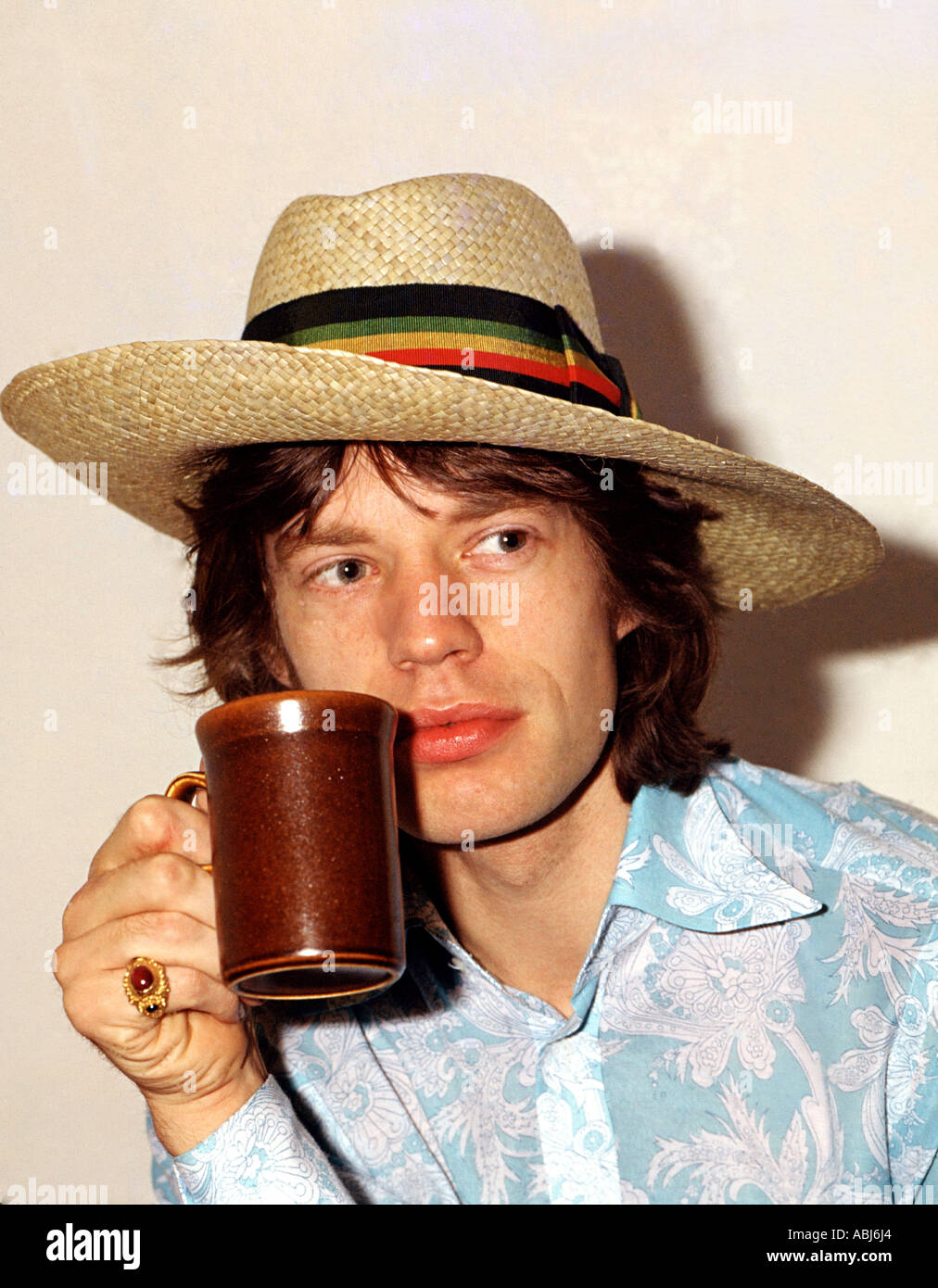 A portrait of mick jagger stock photo 7373475 alamy a portrait of mick jagger nvjuhfo Image collections