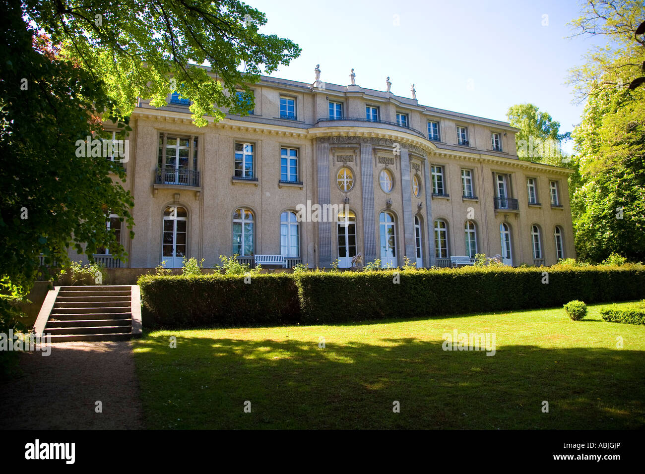 House of the wannsee conference berlin germany