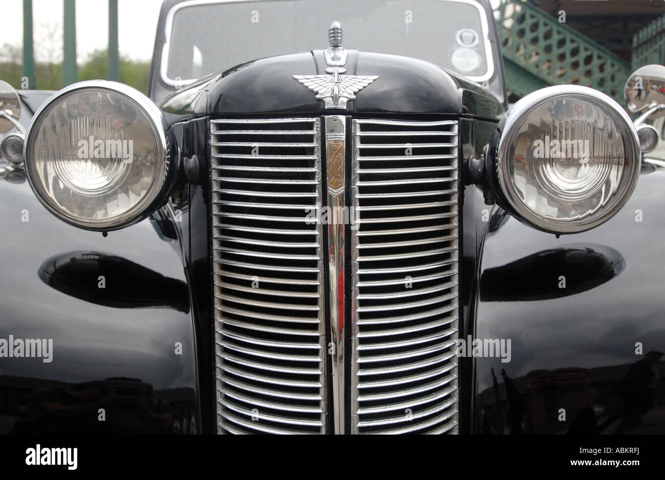 Old Car Grill Badges