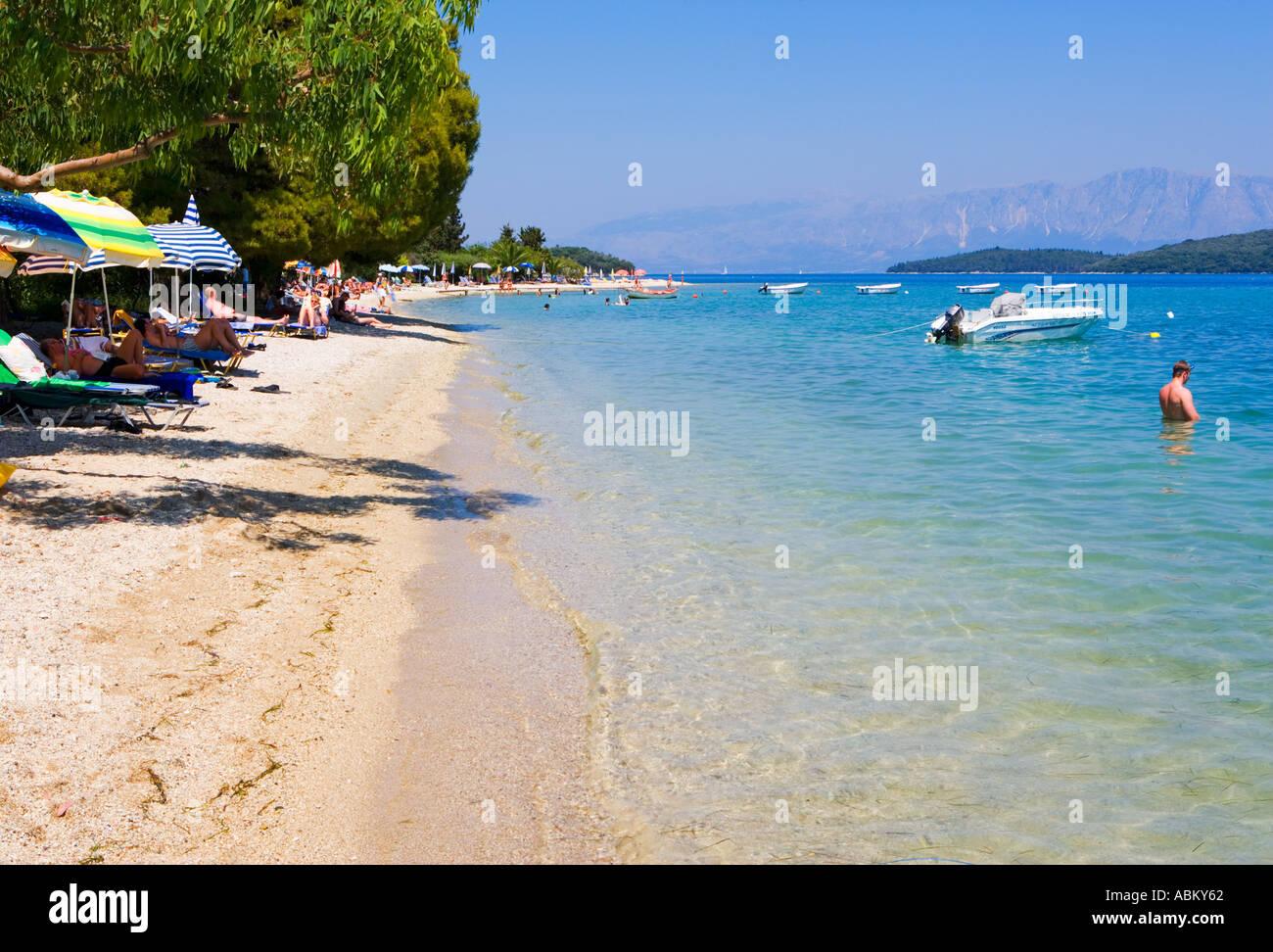 Nidri Beach Lefkas