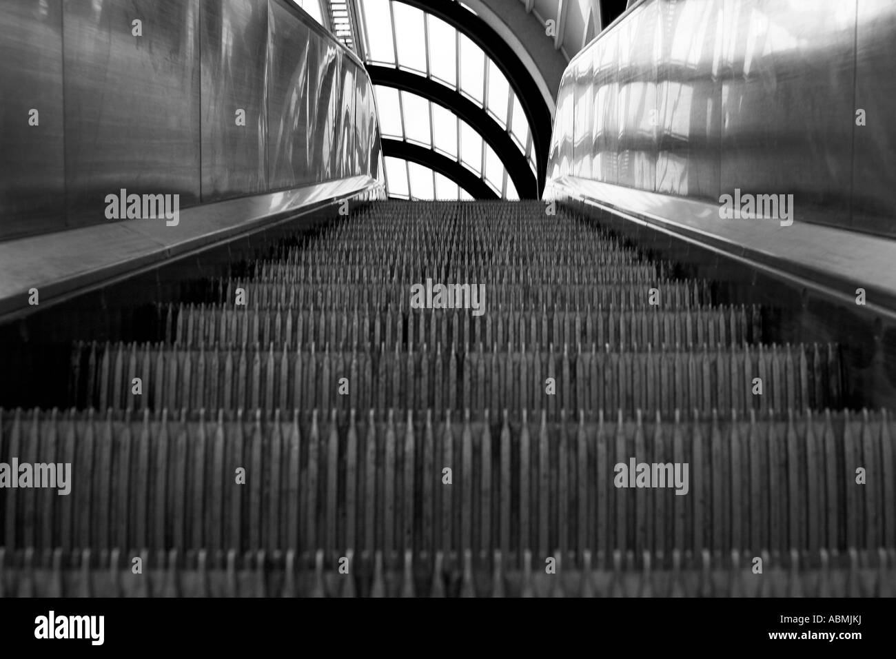 Superior Stock Photo   Close Up Of Moving Staircase, Escalator