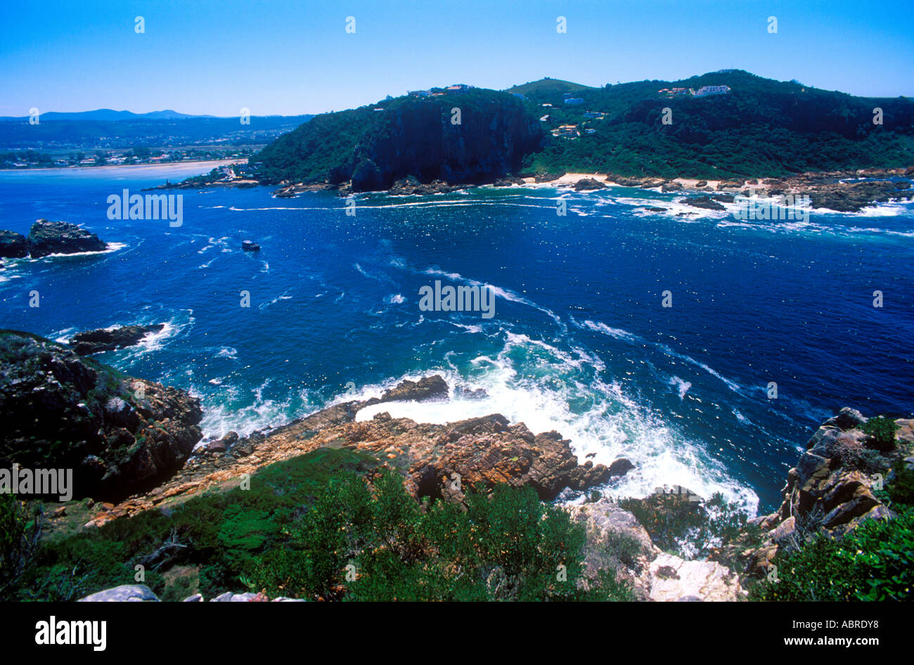 pacific atlantic ocean shot at knysna bay south africa. Black Bedroom Furniture Sets. Home Design Ideas