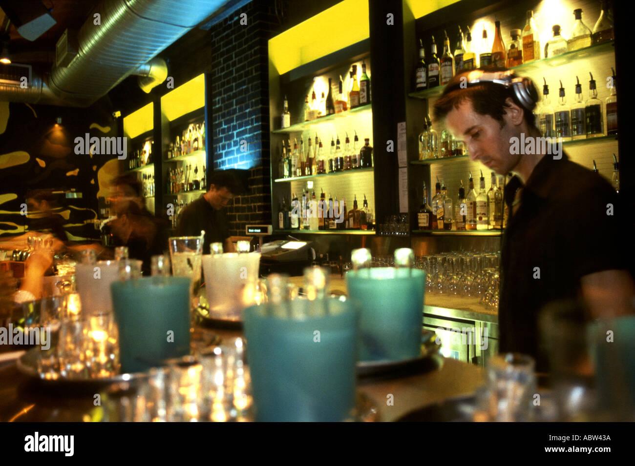 Drink Cocktail Glass Bar Restaurant London Interior