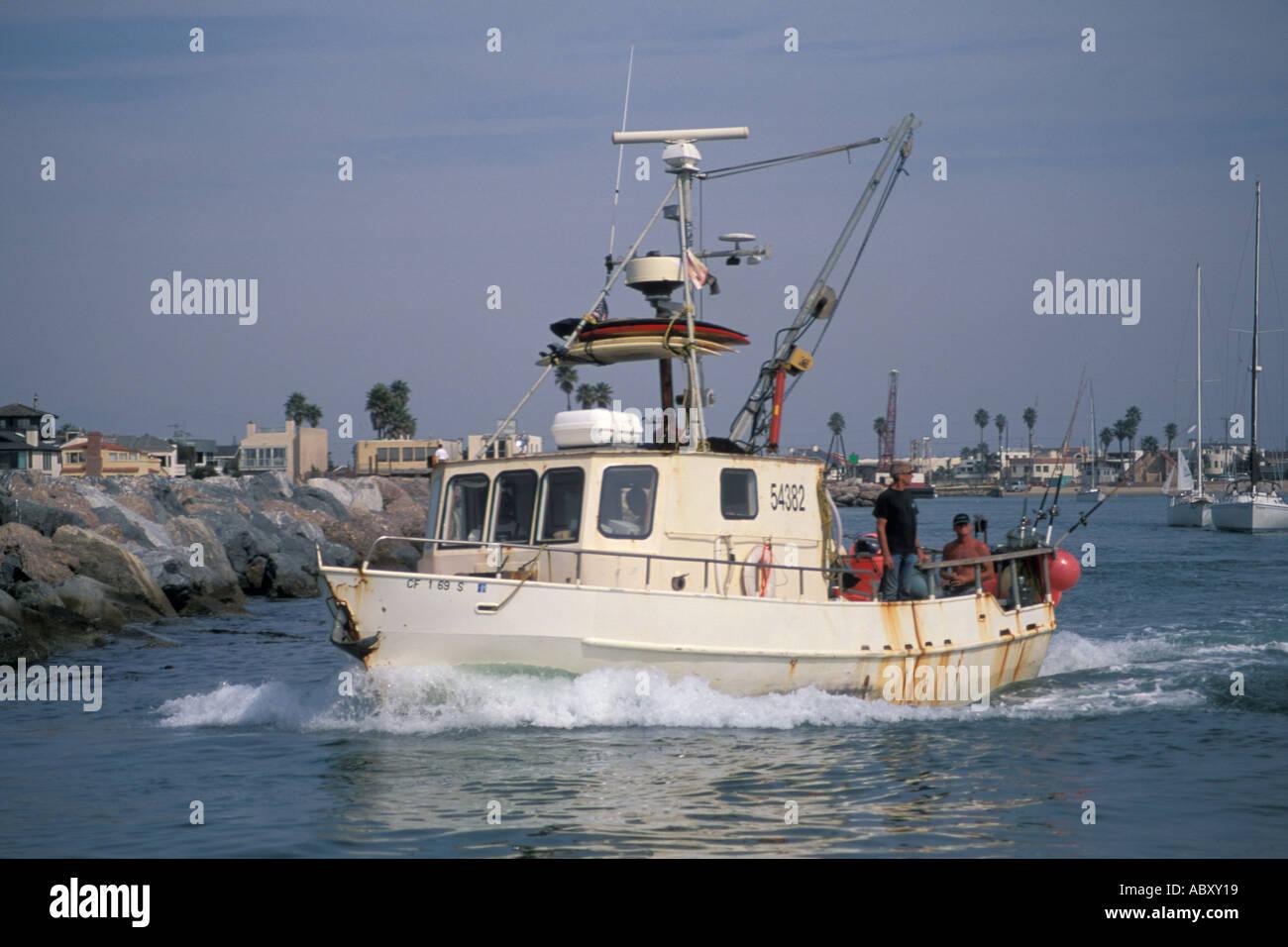 Commercial fishing boats enter santa barbara channel from for Santa barbara fishing