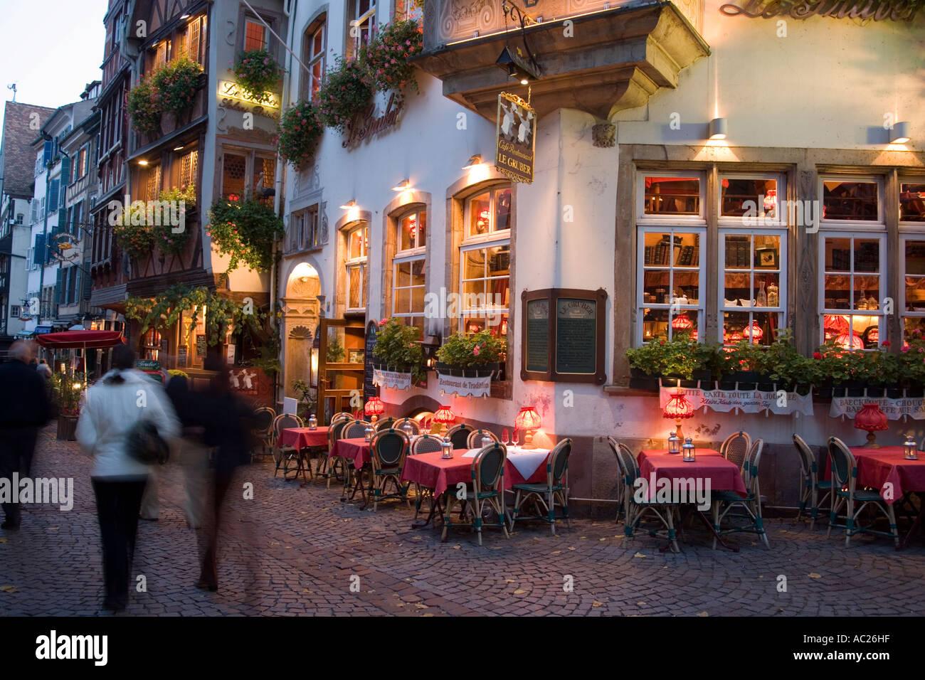 Traditional restaurant au vieux strasbourg bierstub for Reso strasbourg