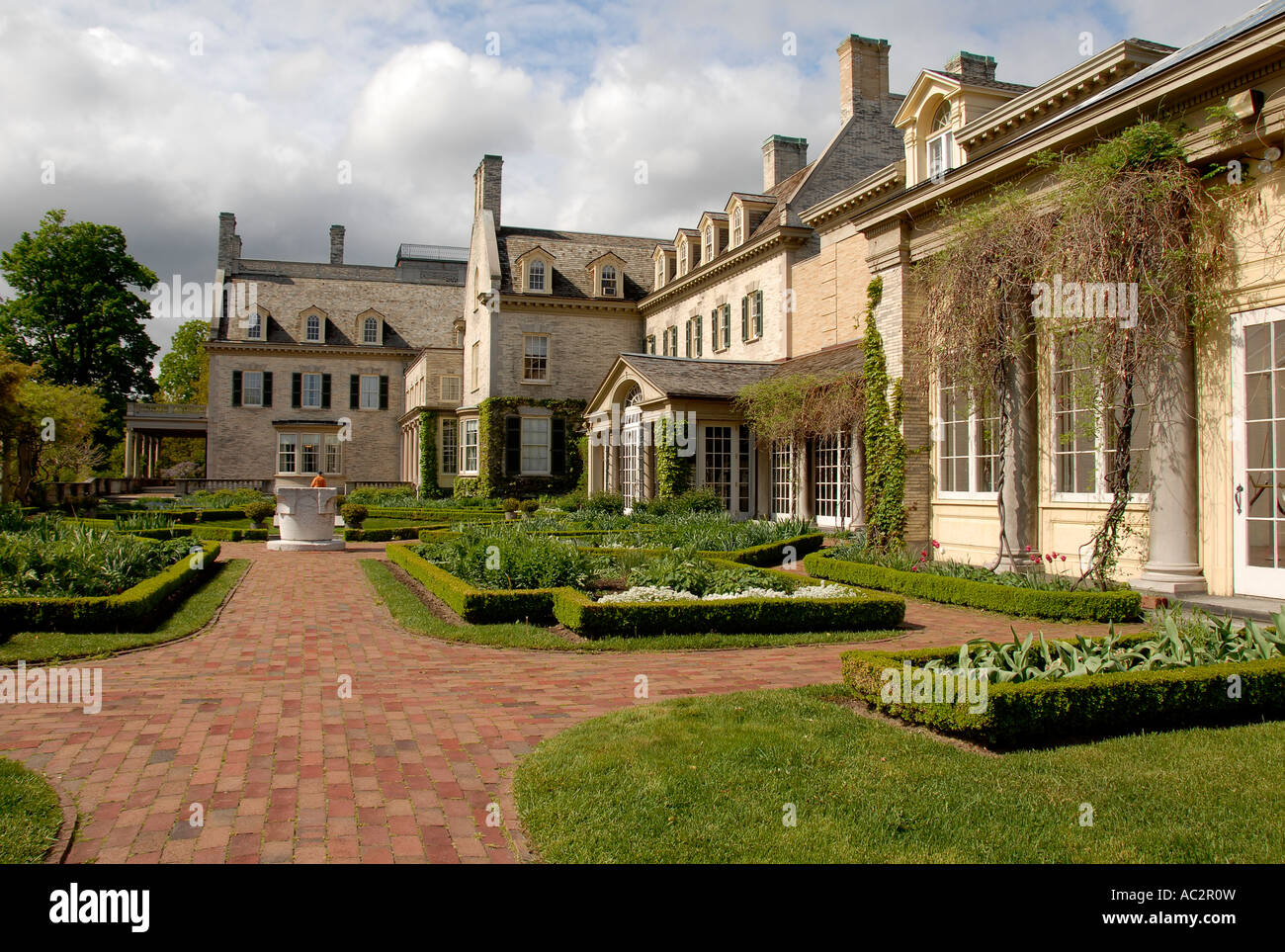 George eastman house garden rochester ny usa stock photo for Rochester house