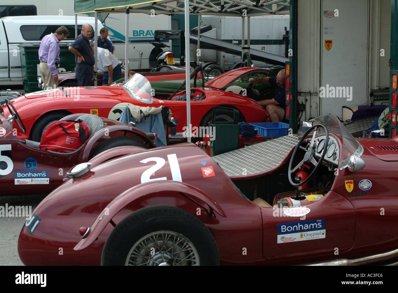 Frazer Nash Le Mans Mk II And Tojeiro Bristol Sports Cars In - Sports cars garage