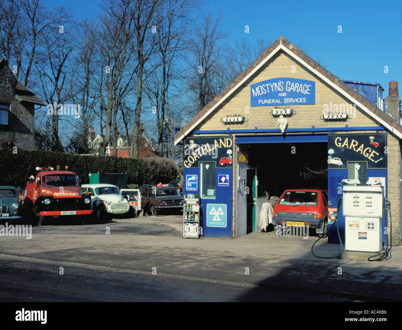 Mostyns Garage Goathland Village North York Moors