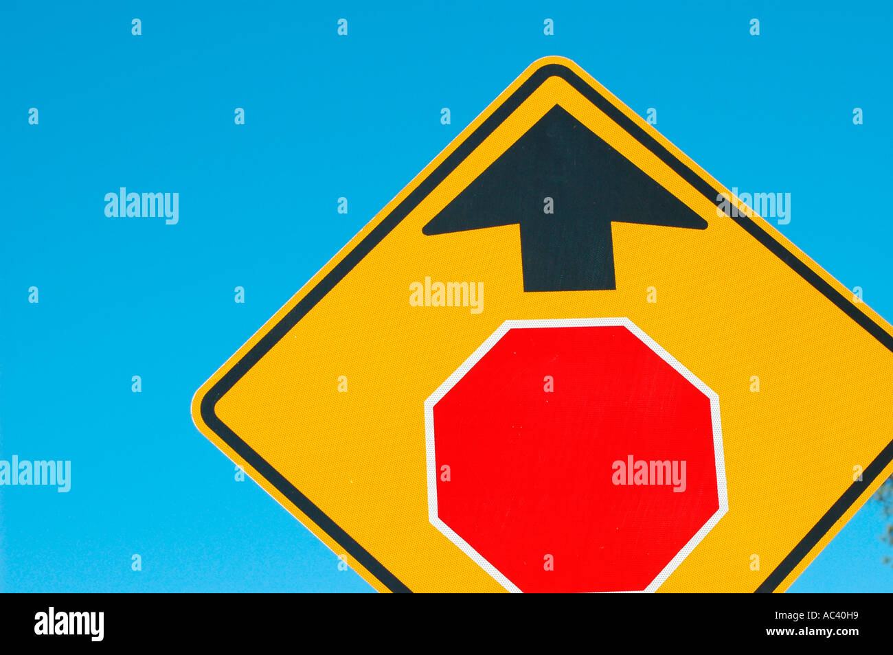 Stop sign ahead sign with red symbol and no word stock photo stock photo stop sign ahead sign with red symbol and no word buycottarizona Images
