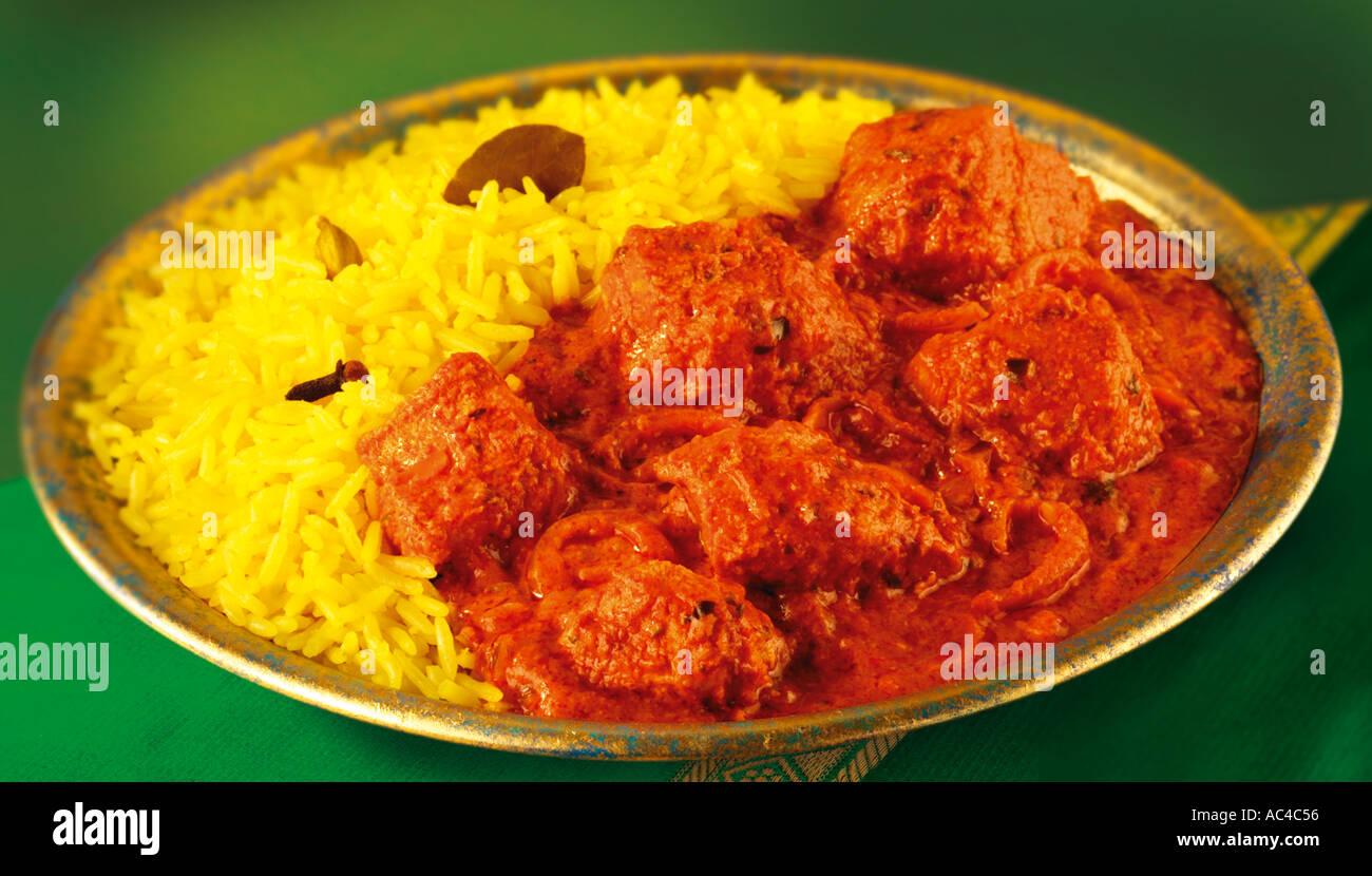 Chicken tikka curry