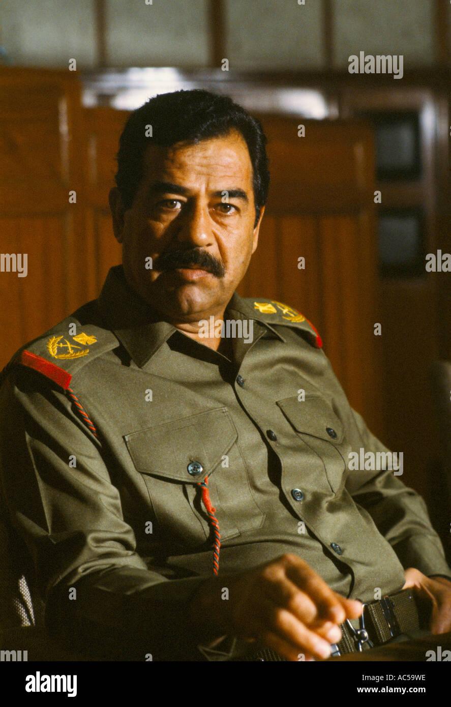 Iraqi Leader Saddam Hussein Images