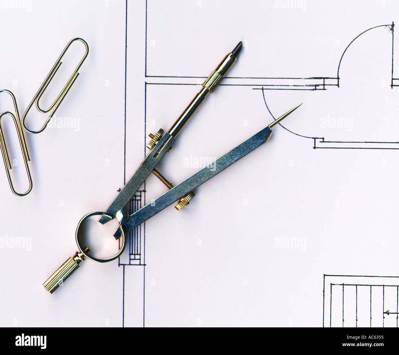 Architects Tools Stock Photo Royalty Free Image 811861