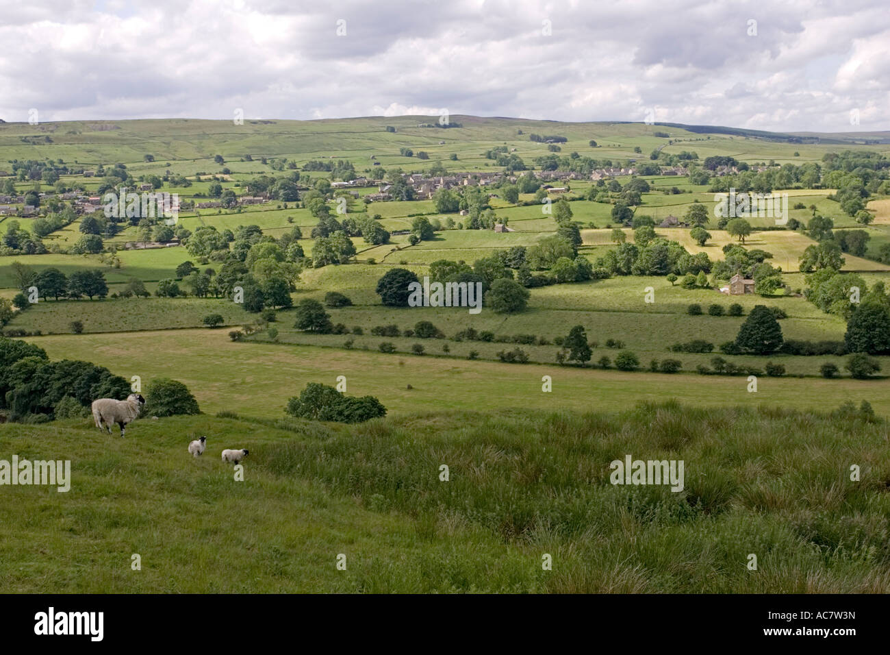 Twisty, Road, Sign, Ion, Pennines, Between, Yorkshire, And Stock ...