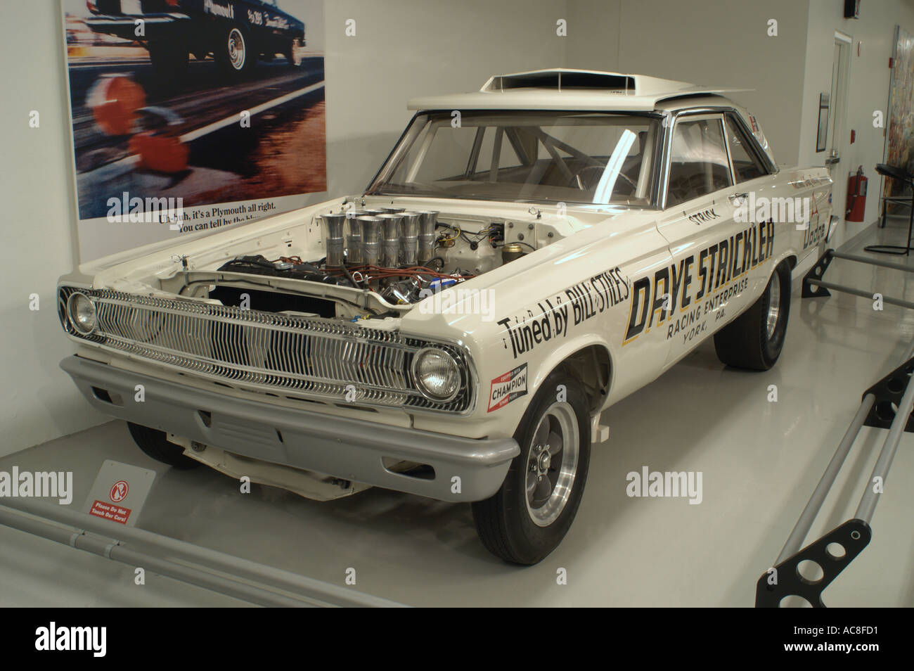 Walter White Chrysler >> 1965 A/FX Dodge funny car at the Walter P Chrysler Museum in Auburn Stock Photo, Royalty Free ...