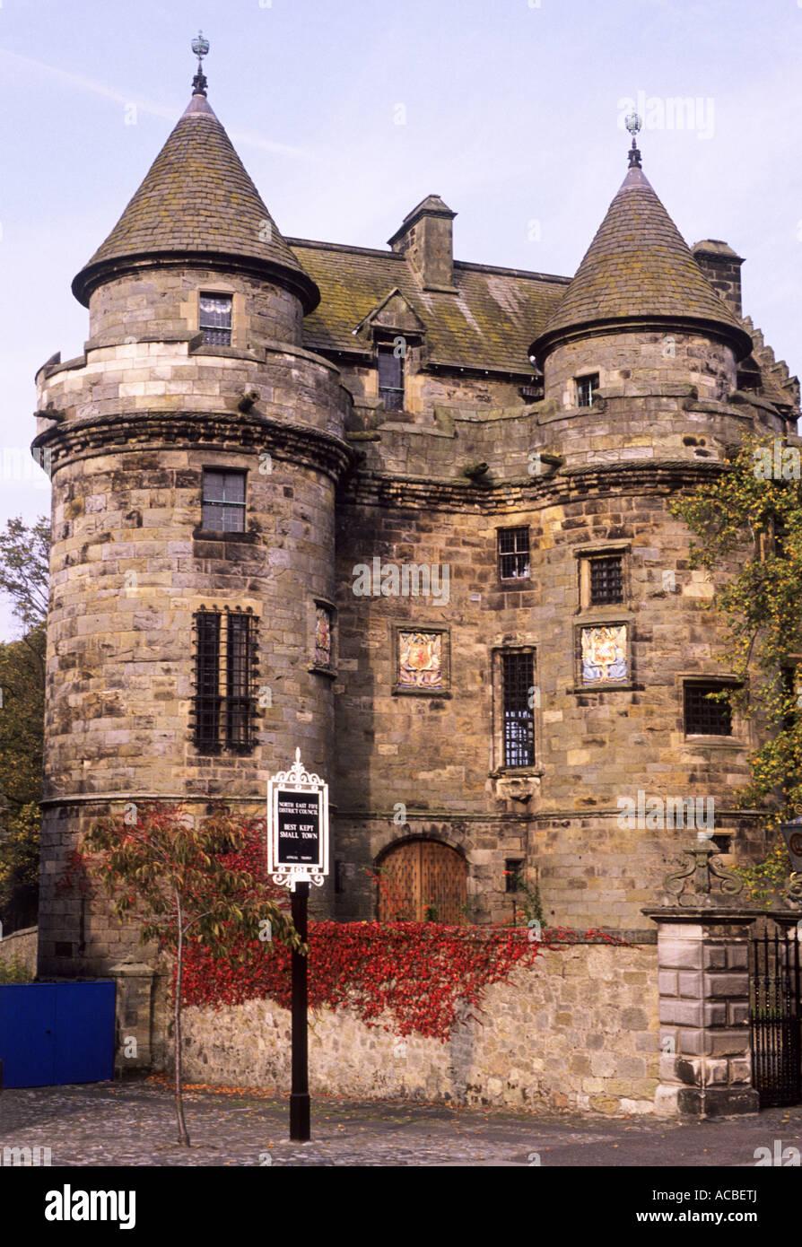 Falkland Palace, Fife, Scotland, UK, 15th and 16th century building,  architecture, history, heritage, Scottish, travel, tourism