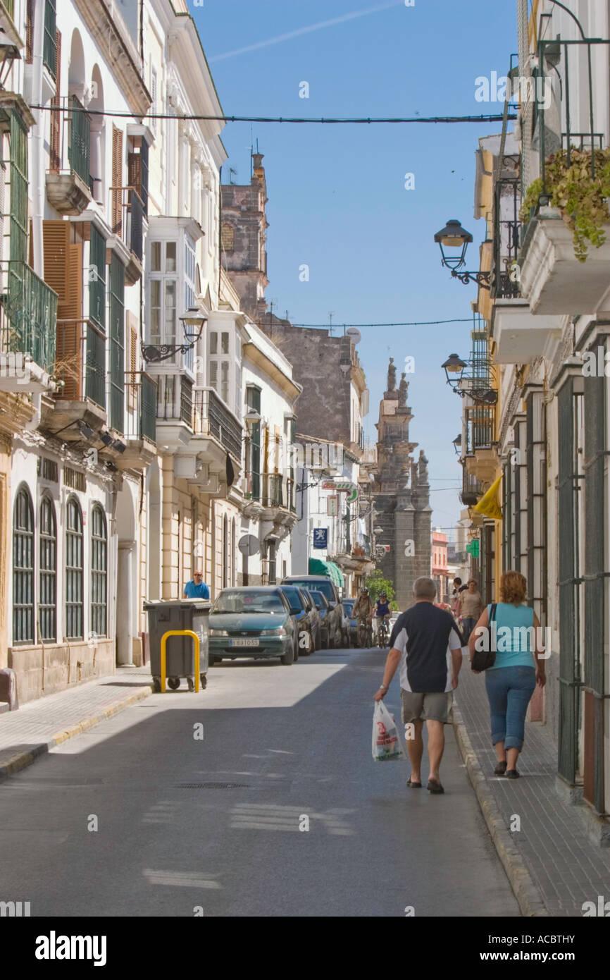 Calle santa lucia el puerto de santa maria cadiz andalucia spain stock photo royalty free image - Fisioterapia en el puerto de santa maria ...