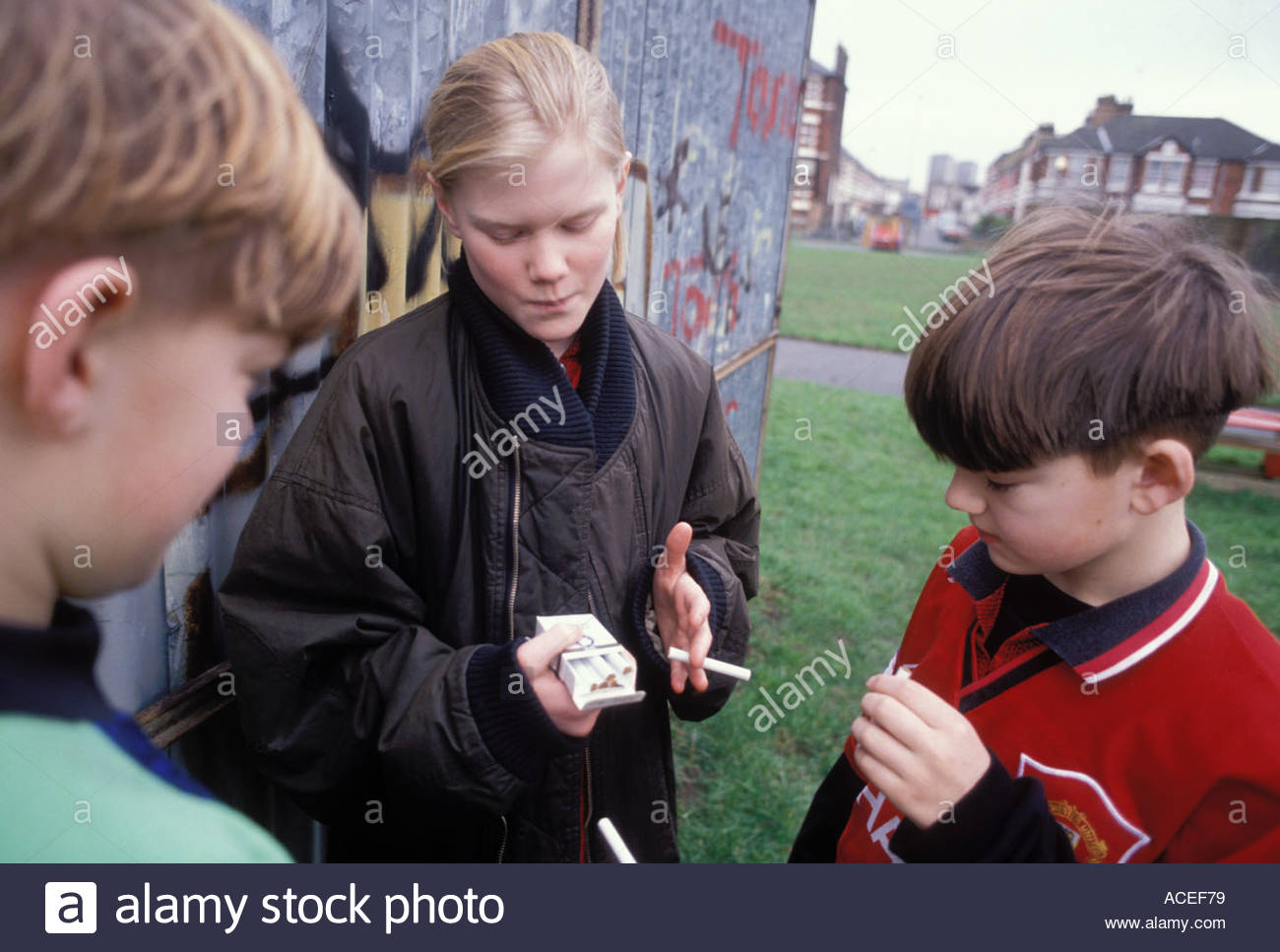 Kids smoking cigarettes recommend you