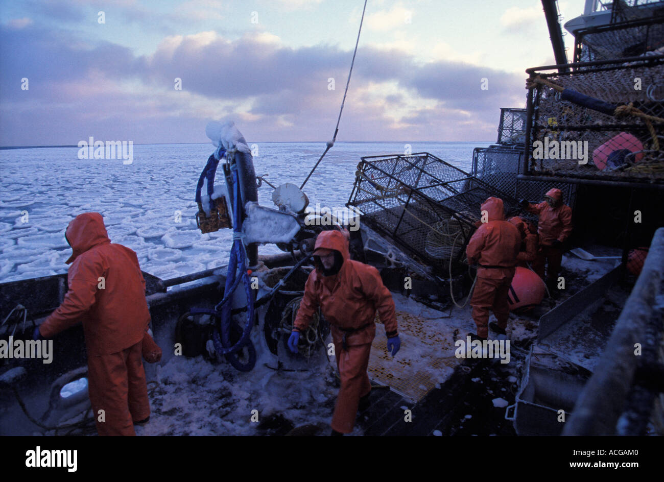 Crab fisherman work on the dangerous bering sea in alaska for Bering sea fishing
