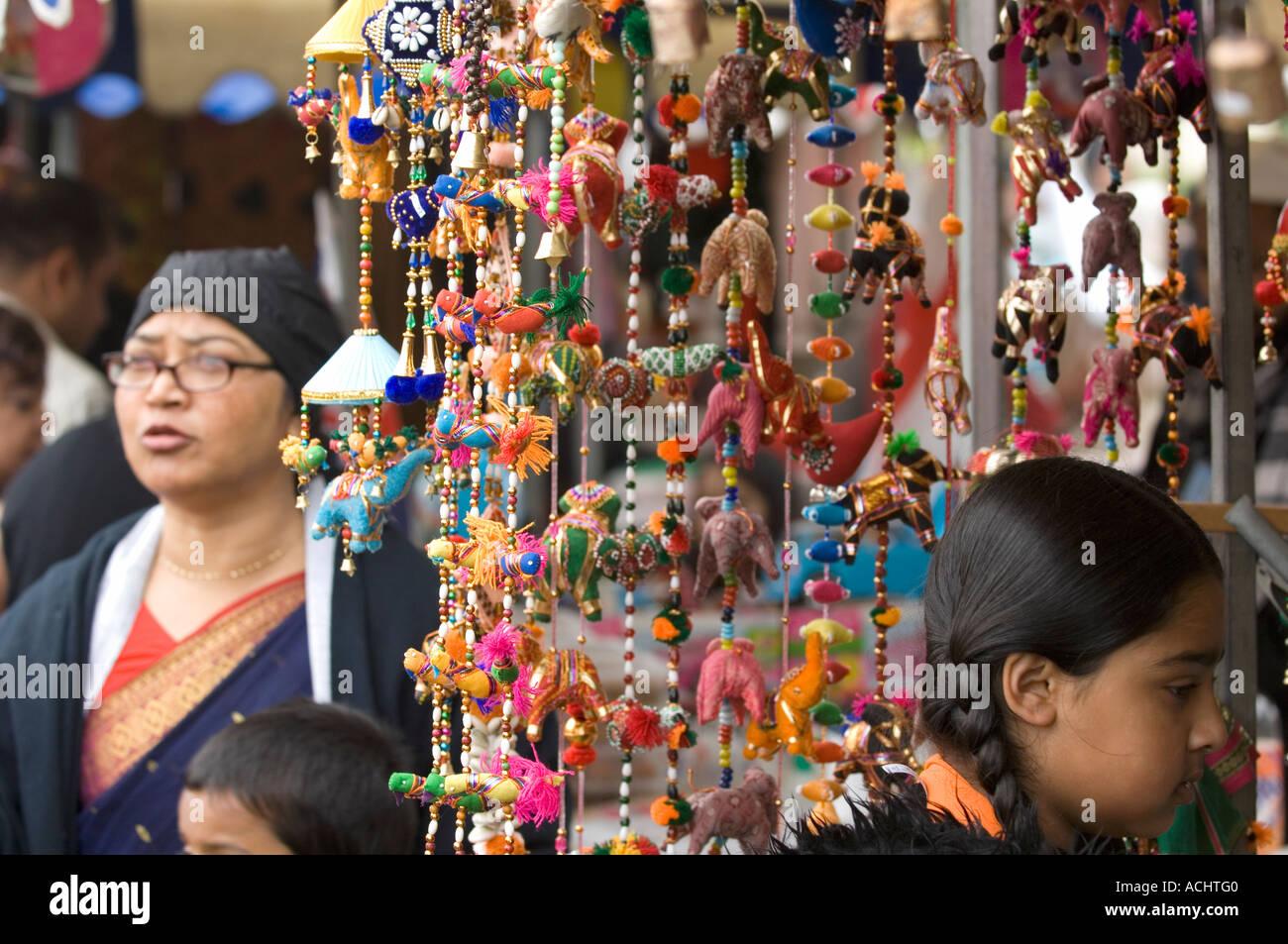 Handmade indian hanging decorations at market stall in Tower ... for Indian Hanging Decorations  111bof