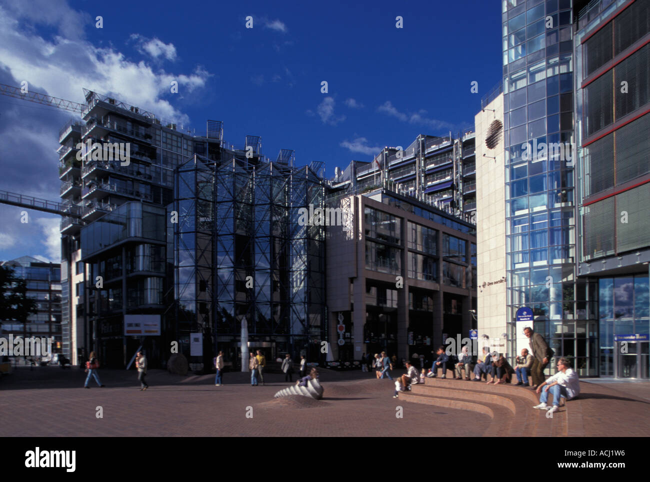 Modern Architecture Europe europe norway modern architecture at aker brygge mall along