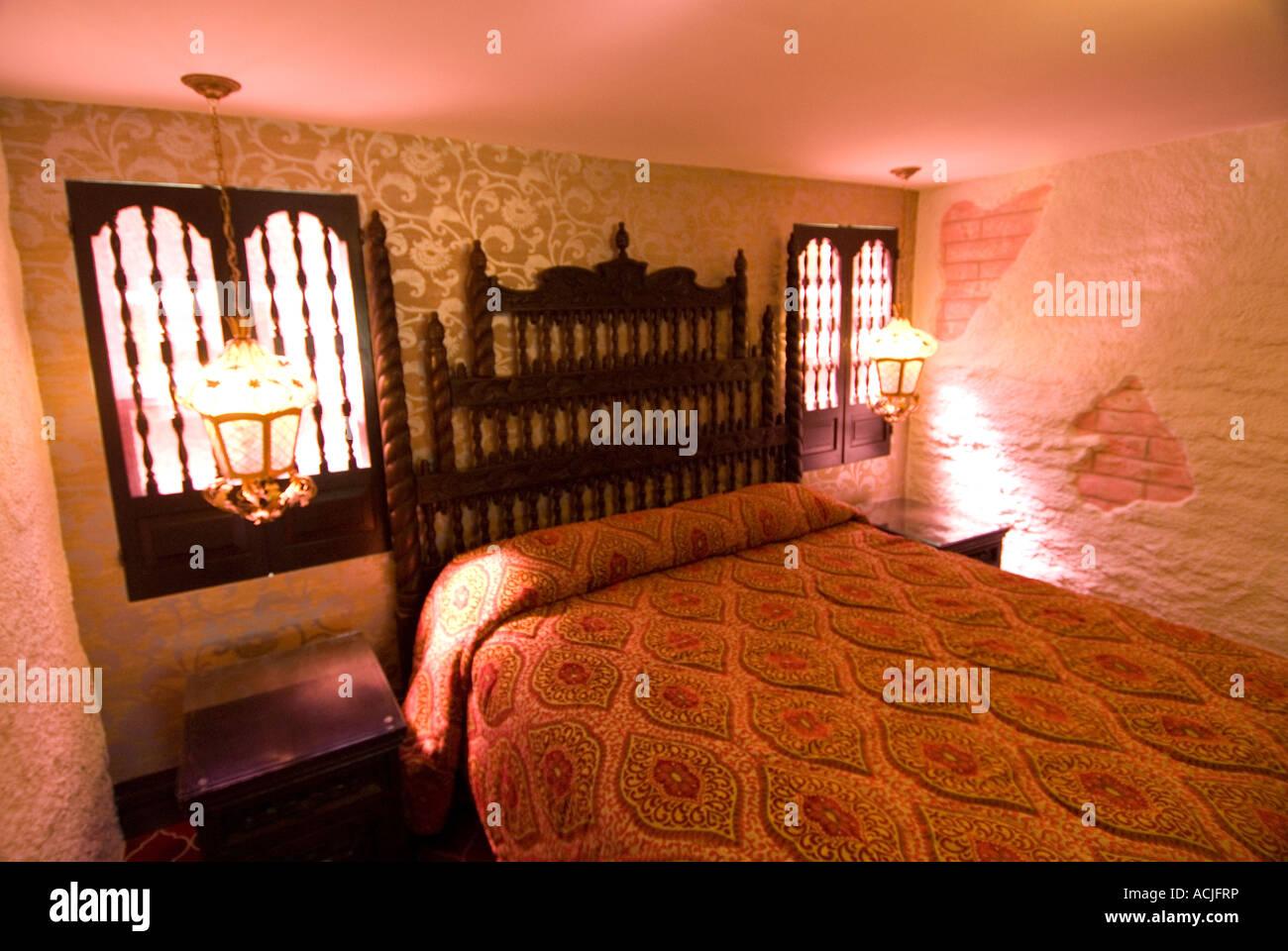 Room at Madonna Inn, hotel at San Luis Obispo, California Stock ...