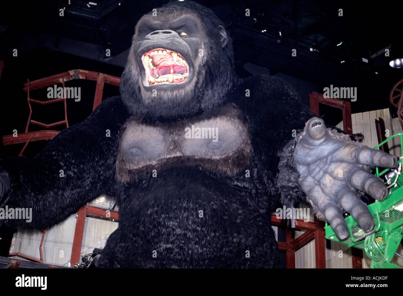 King Kong at Universal Studios in Orlando Florida Stock Photo