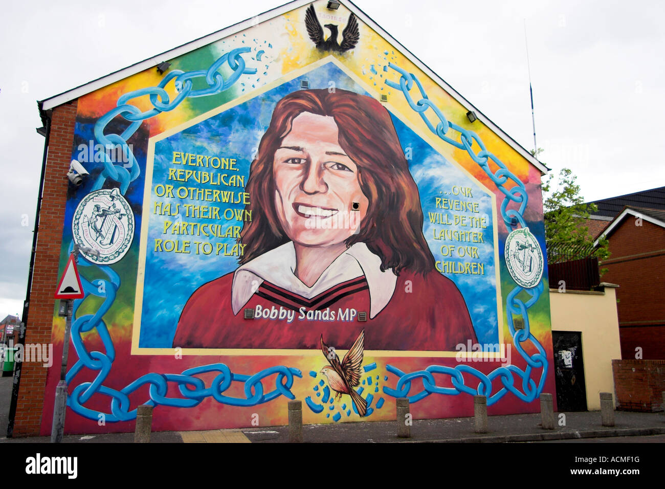 Bobby sands mural belfast country antrim northern ireland for Bobby sands mural