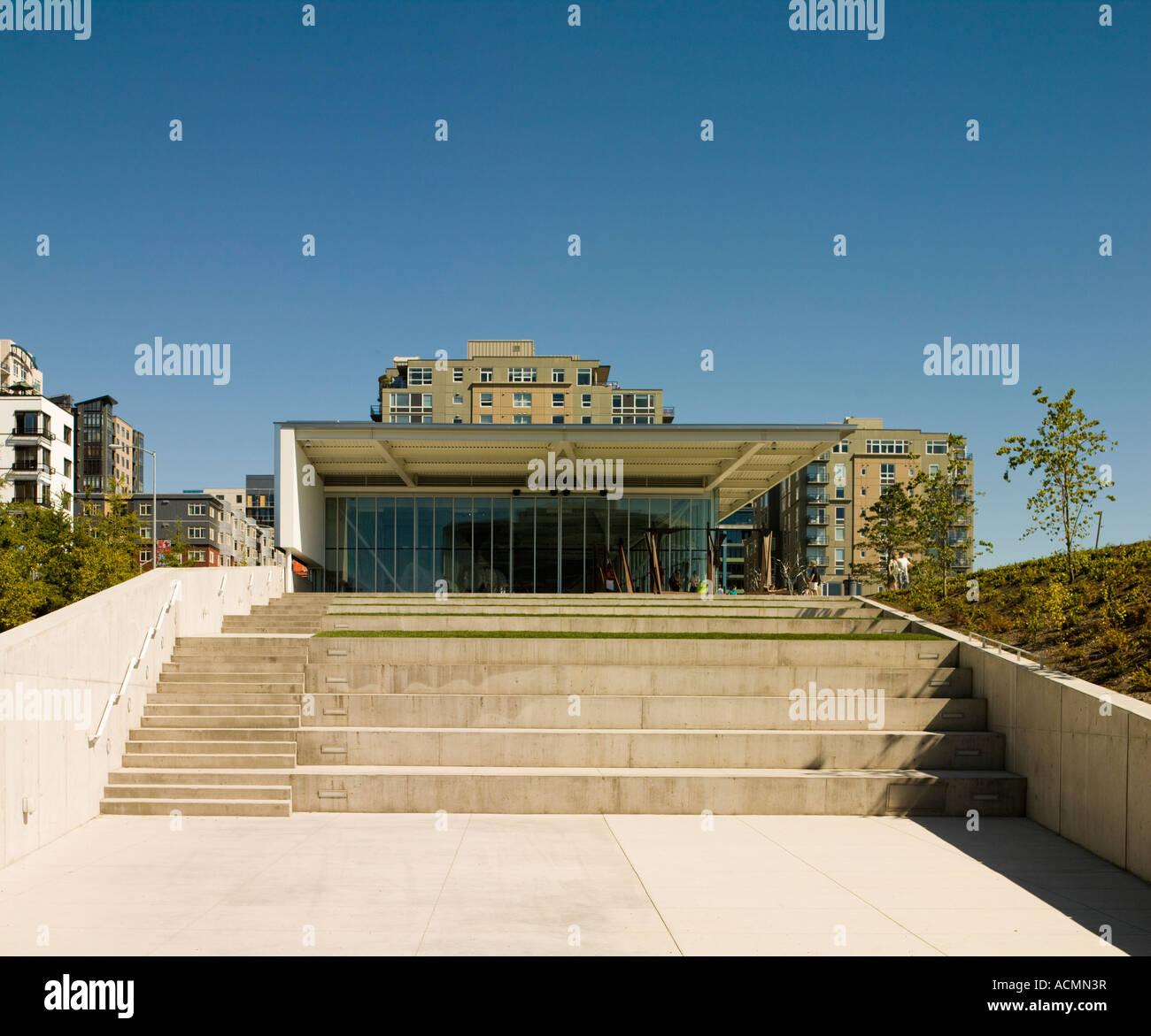 Paccar Pavilion, Olympic Sculpture Park, Seattle Art Museum ...