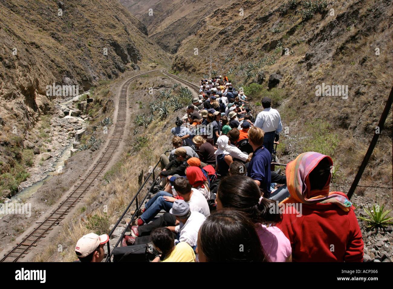 The Train To The Devils Nose Or El Nariz Del Diablo