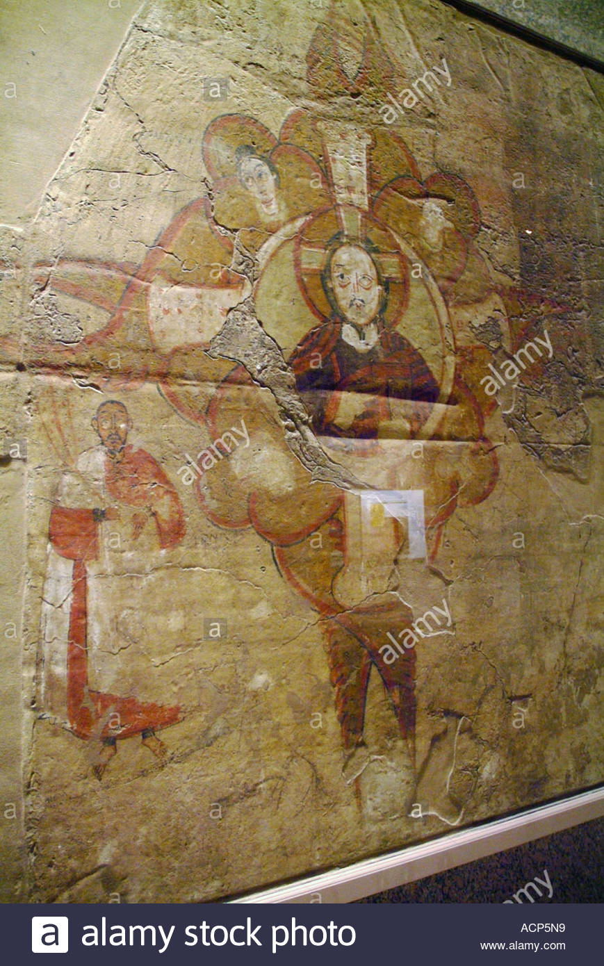 Early christian symbolism in wall mural exhibited in nubian museum early christian symbolism in wall mural exhibited in nubian museum aswan buycottarizona Choice Image