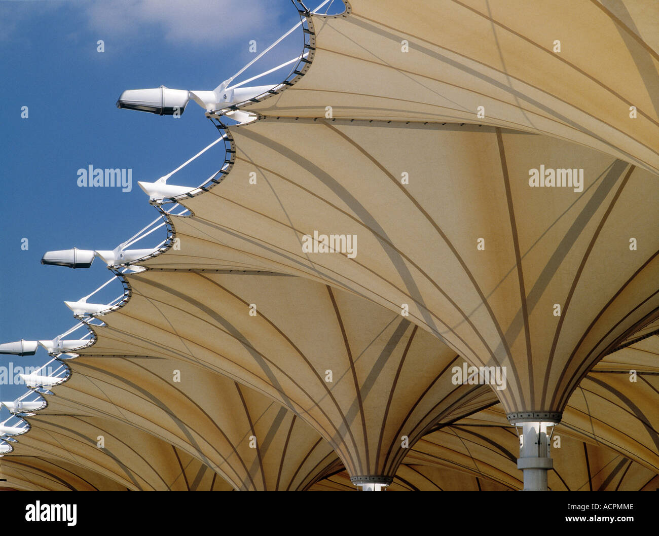 Canopy roofing at Stratford Bus Station London & Canopy roofing at Stratford Bus Station London Stock Photo ...