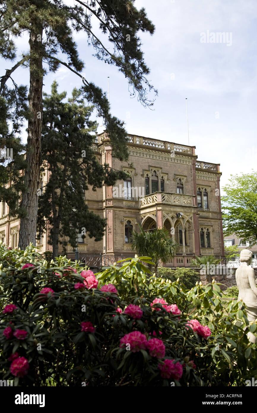 Freiburg Villa in a park is the neo colombischlössle a villa housing