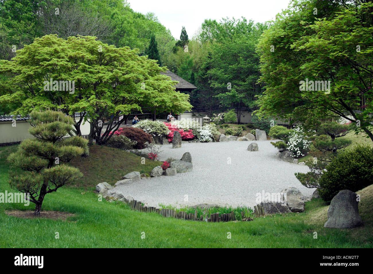 The japanese gardens at the cheekwood botanical gardens in for Japanese botanical garden