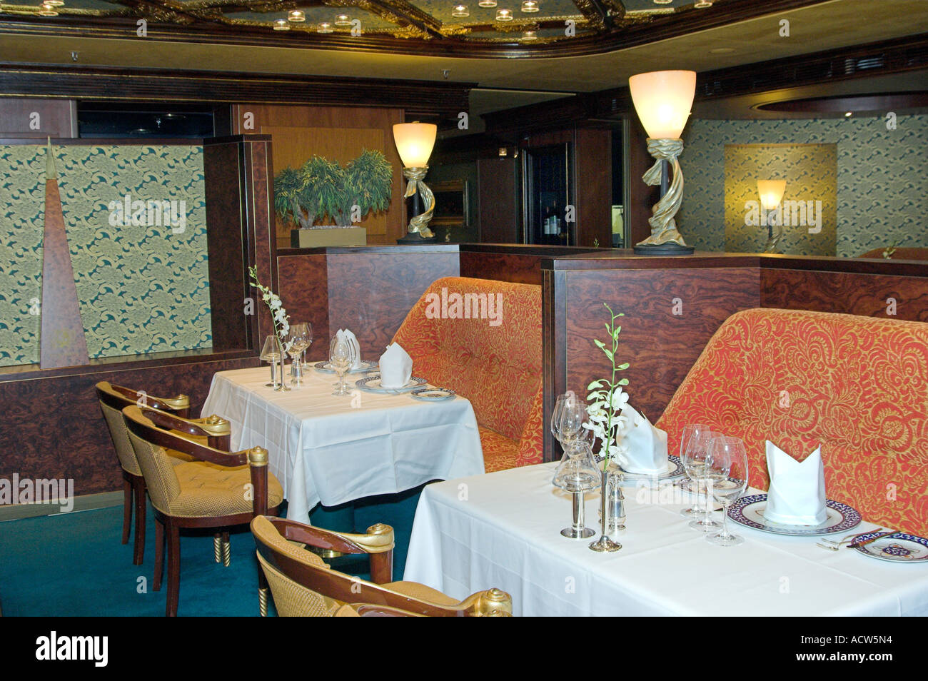 The Upscale Pinnacle Grill Restaurant On The Holland America - Pinnacle grill
