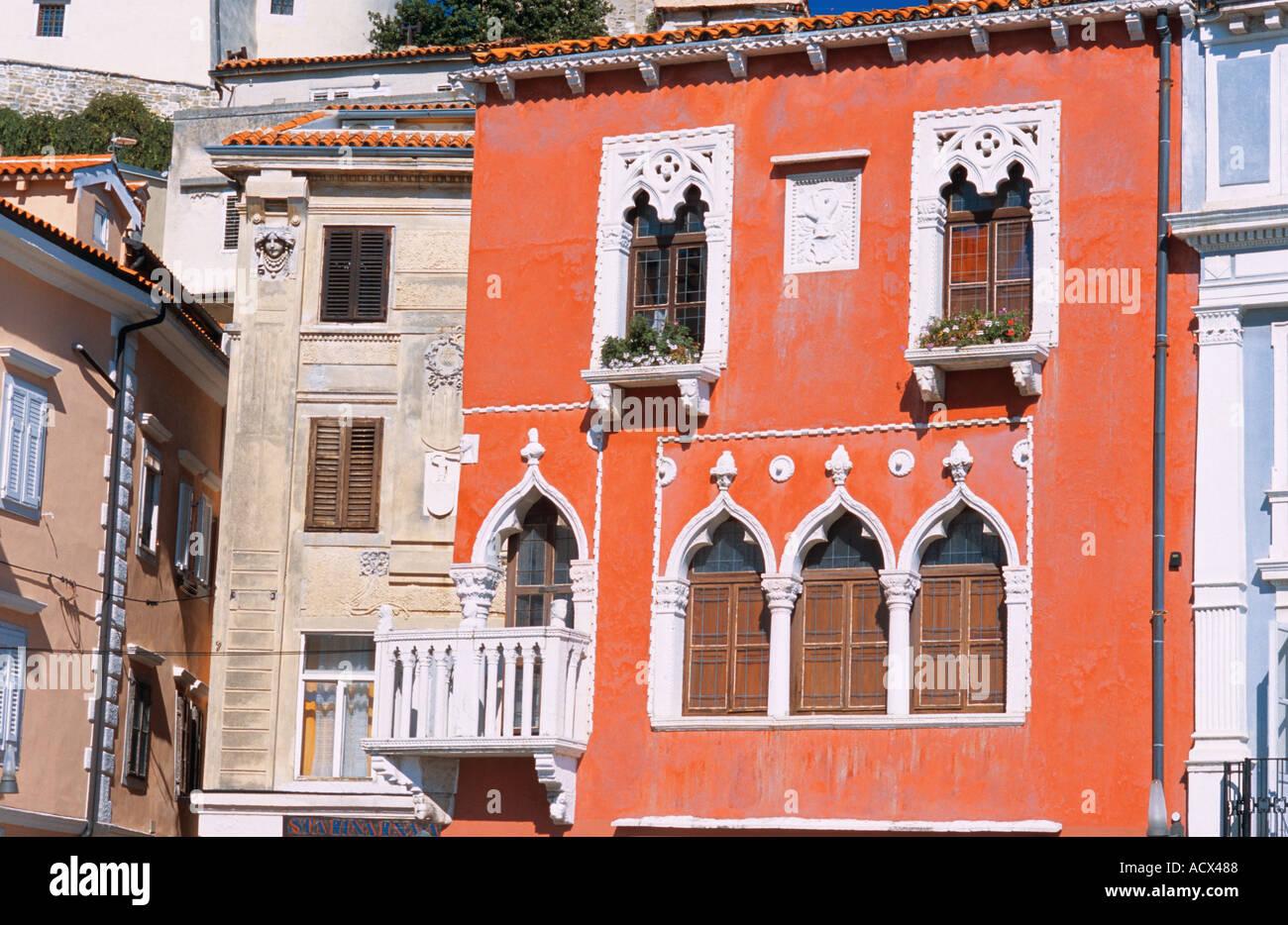 Casa Veneziana House In Venetian Style Piran Slovenia