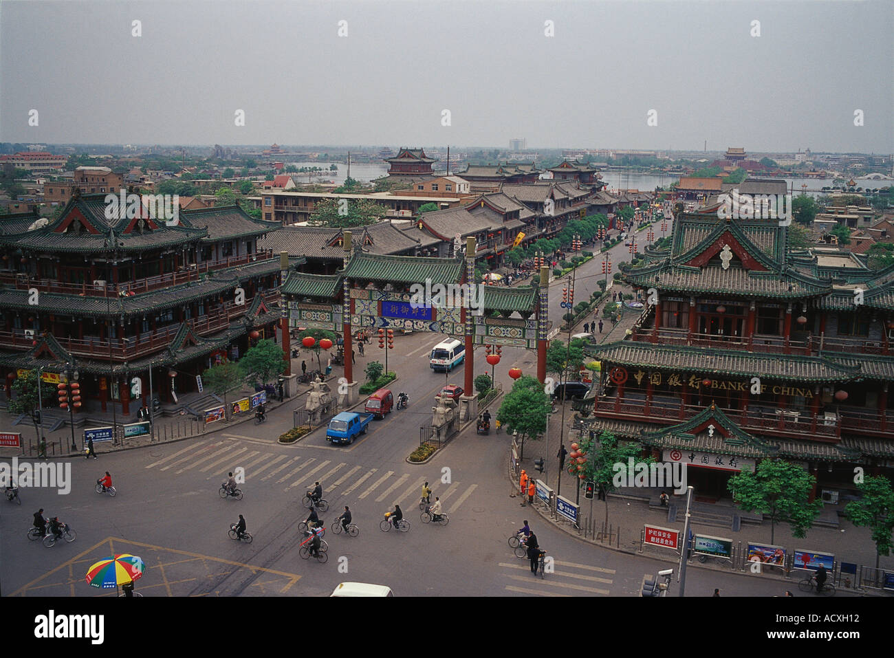 Kaifeng China  City pictures : Kaifeng Henan China Stock Photo, Royalty Free Image: 4323601 Alamy