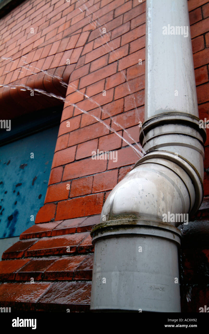 leaking drain pipe Stock Photo, Royalty Free Image: 4323729 - Alamy