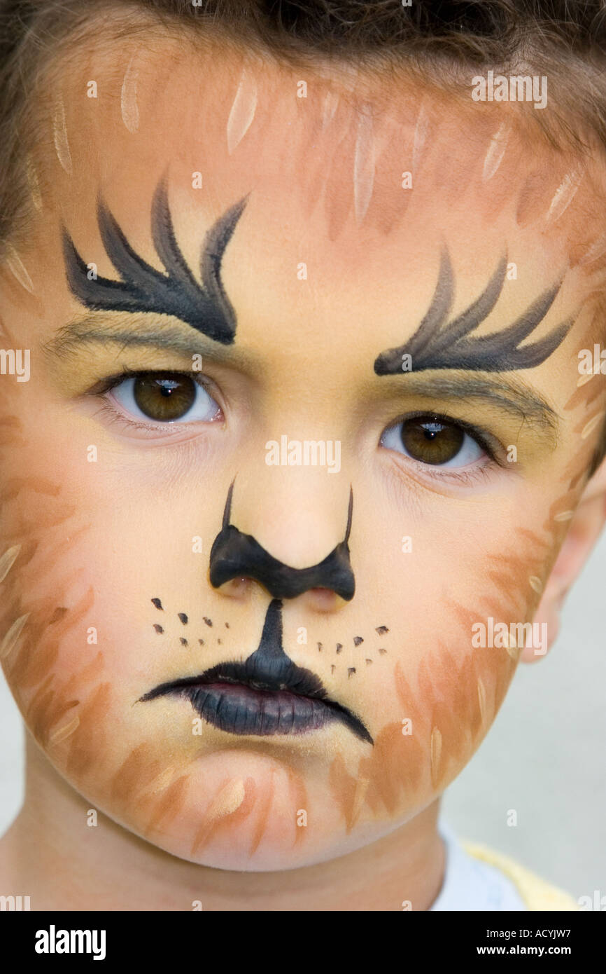 Lion Facepaint | www.pixshark.com - Images Galleries With ...
