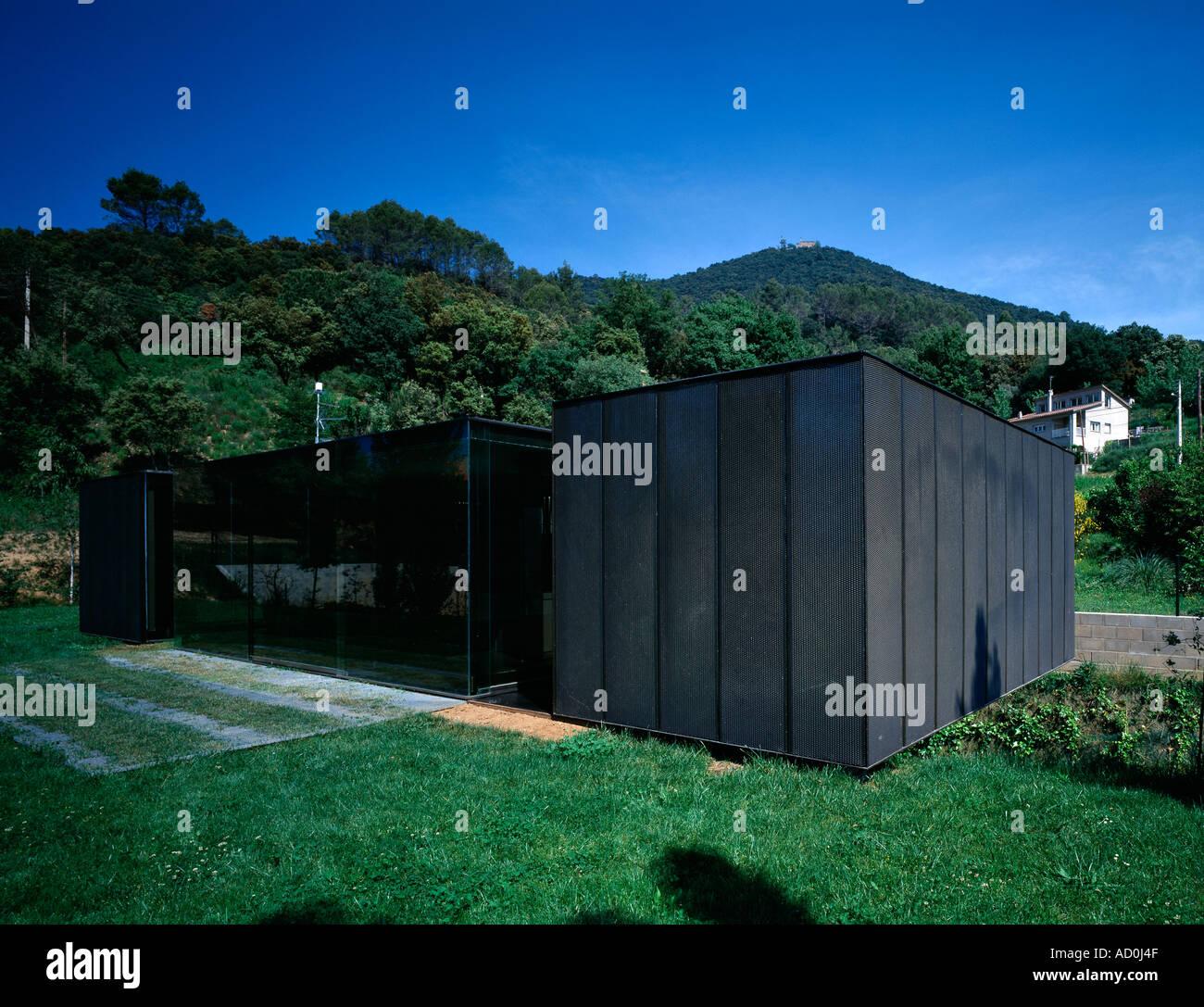 M lidia house montagut girona 2000 2002 exterior - Arquitectes girona ...