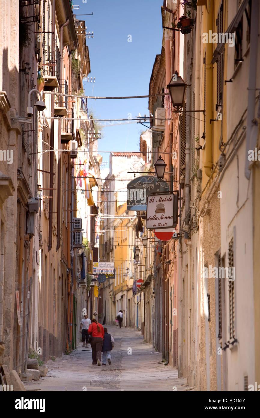Old City, Sassari, Sardinia, Italy Stock Photo, Royalty ...
