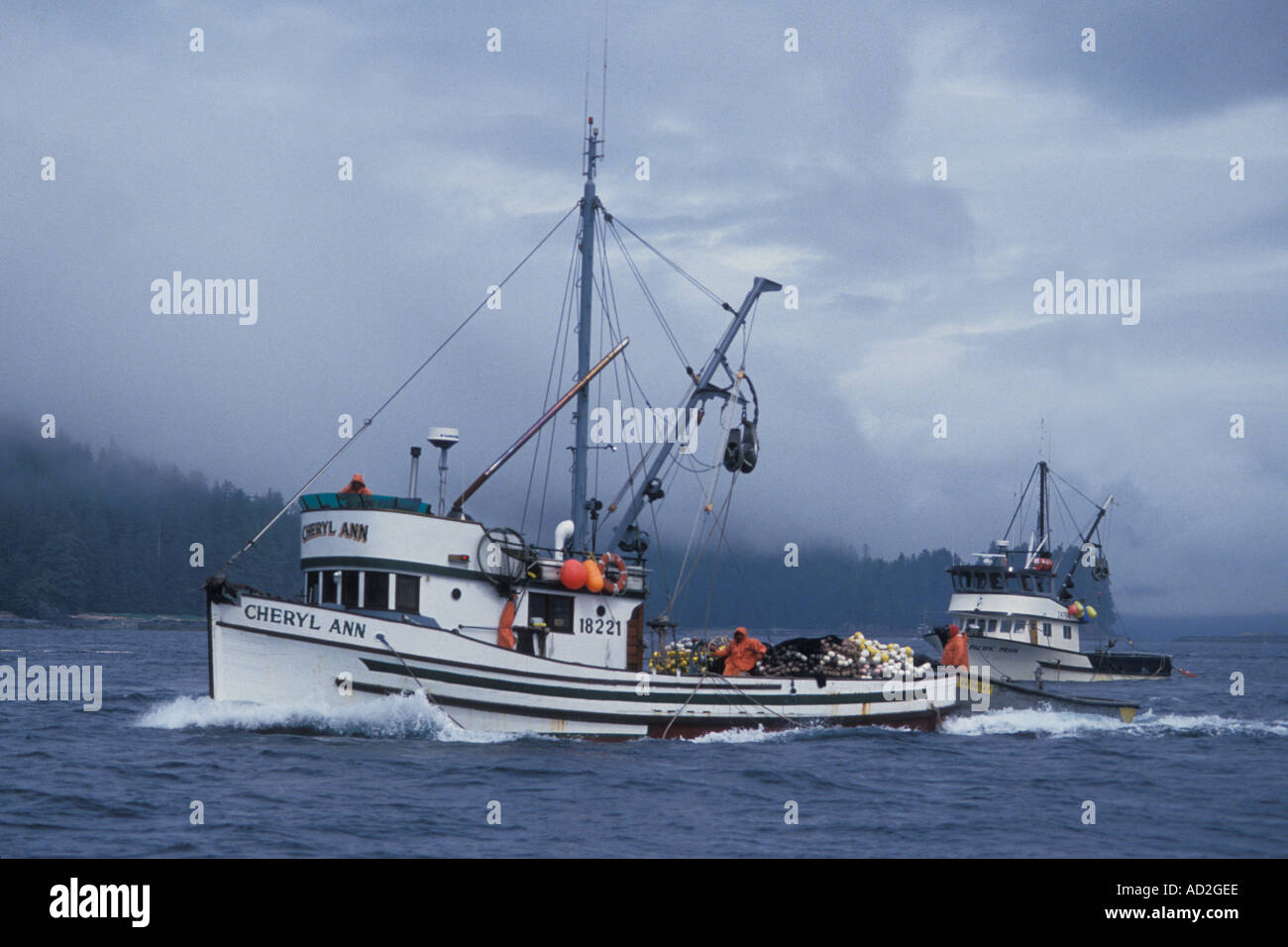Image gallery salmon seiners for Purse seine fishing