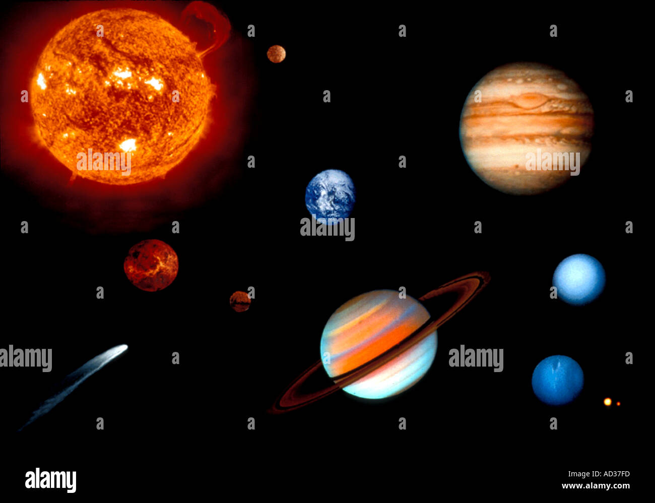 science planets and name - photo #10