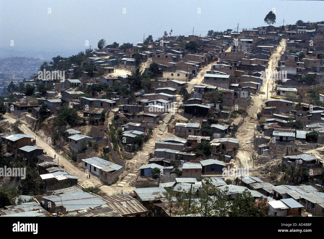 Image result for tegucigalpa shanty towns