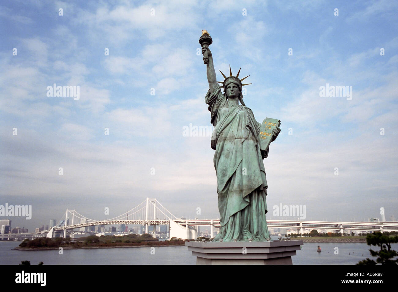 how to go to odaiba statue of liberty
