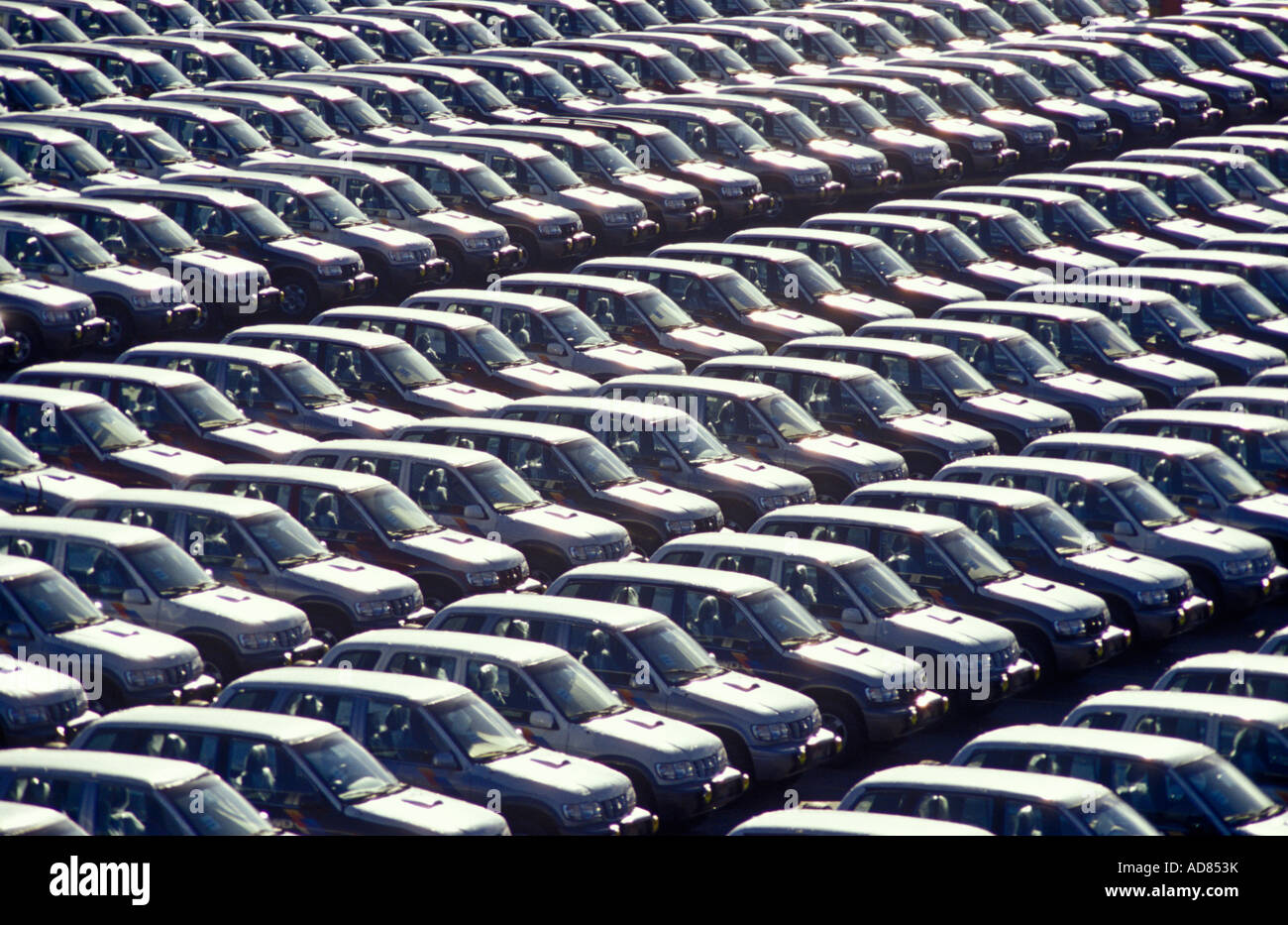 Cars For Exportation Fiat Plant Brazil Automobile Industry Mass ...