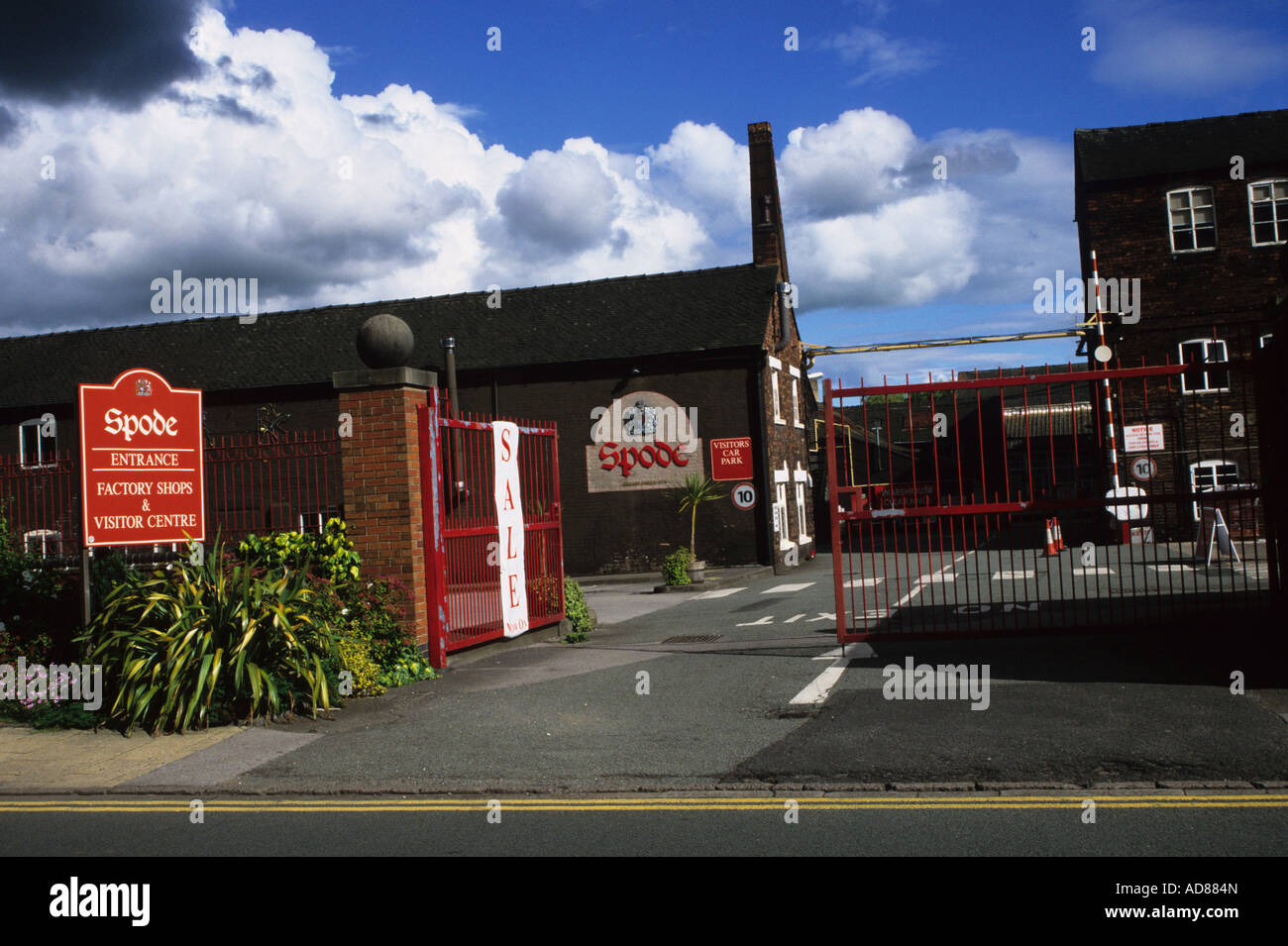 Exhibition Stands Stoke On Trent : Spode factory in stoke on trent stock photo