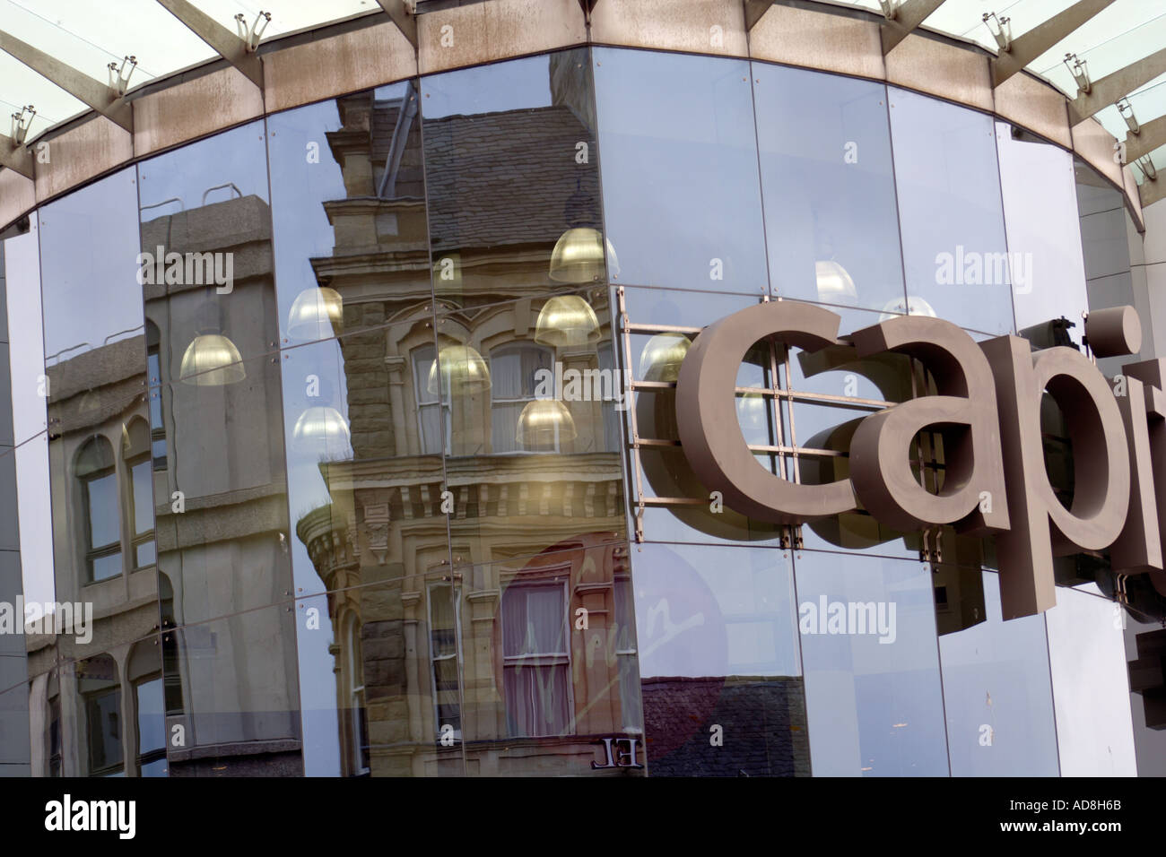 Contemporary Retail Architecture Queen Street Cardiff Wales