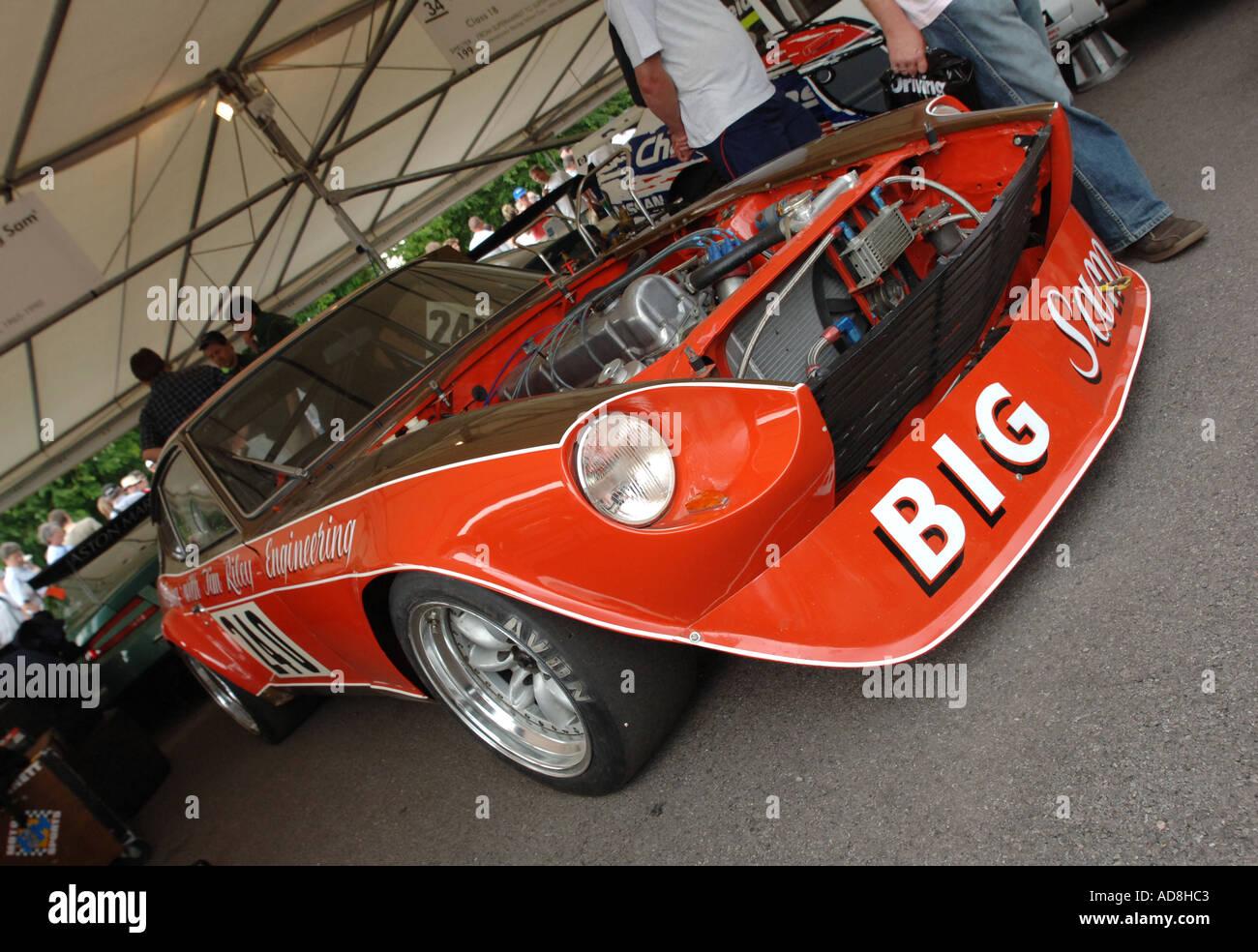 Datsun 240z stock photos datsun 240z stock images alamy 1974 datsun 240z big sam at goodwood festival of speed 2005 stock image vanachro Gallery