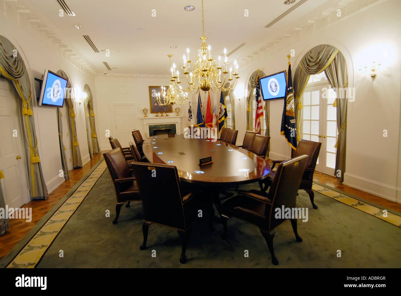 The Cabinet Meeting Room At Gerald R Ford Presidential