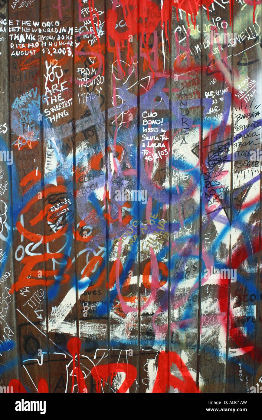 Graffiti wall painting - Graffiti Wall Door Graffiti Is Street Art Spray Painting